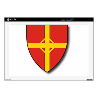 "Hungary #6 17"" laptop decals"