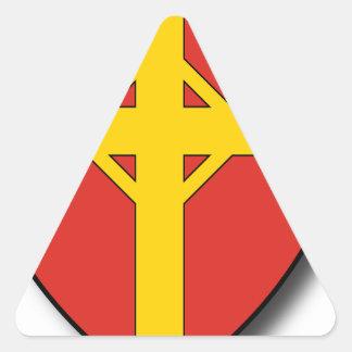 Hungary #6 triangle sticker