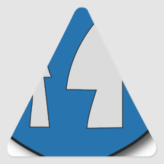 Hungary #7 triangle sticker