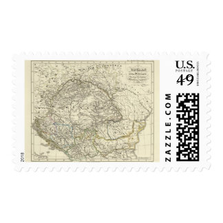 Hungary and its by-country to extinction postage