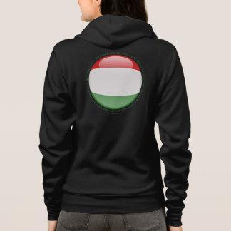 Hungary Bubble Flag Hoodie