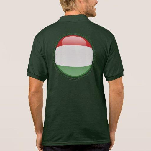 Hungary Bubble Flag Tshirt