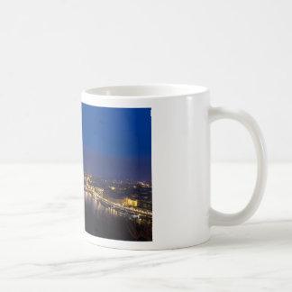 Hungary Budapest at night panorama Coffee Mug