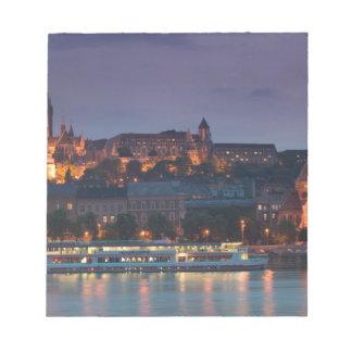 HUNGARY, Budapest: Castle Hill, Calvinist Church Notepad