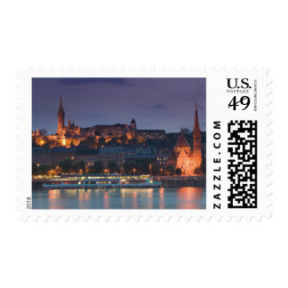 HUNGARY, Budapest: Castle Hill, Calvinist Church Postage Stamps