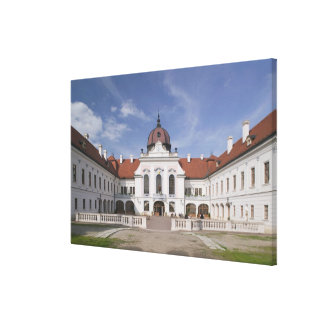 Hungary, Budapest, Godollo: Royal Mansion, Home Canvas Print