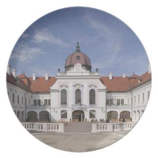 Hungary, Budapest, Godollo: Royal Mansion, Home Dinner Plate