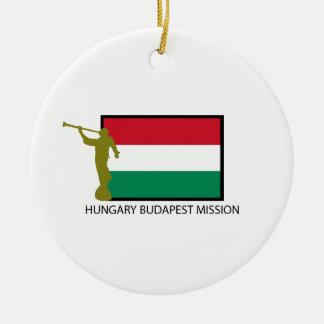 HUNGARY BUDAPEST MISSION LDS CTR CERAMIC ORNAMENT
