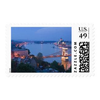 HUNGARY, Budapest: Szechenyi (Chain) Bridge, 2 Postage Stamp