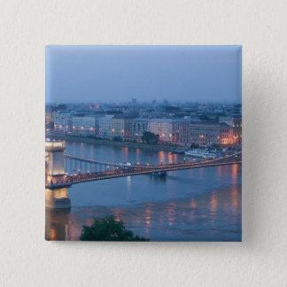 HUNGARY, Budapest: Szechenyi (Chain) Bridge, 3 Button