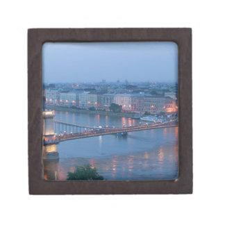 HUNGARY, Budapest: Szechenyi (Chain) Bridge, 3 Premium Gift Boxes