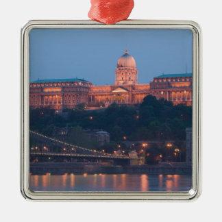 HUNGARY, Budapest: Szechenyi (Chain) Bridge, Metal Ornament