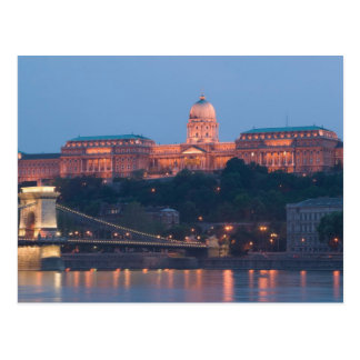 HUNGARY, Budapest: Szechenyi (Chain) Bridge, Postcard