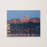 HUNGARY, Budapest: Szechenyi (Chain) Bridge, Jigsaw Puzzles