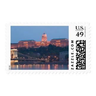 HUNGARY, Budapest: Szechenyi (Chain) Bridge, Stamps