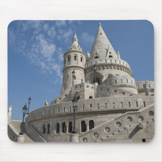 Hungary, capital city of Budapest. Buda, Castle 2 Mouse Pad