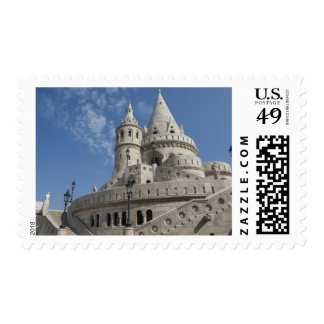 Hungary, capital city of Budapest. Buda, Castle 2 Postage Stamps