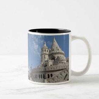 Hungary, capital city of Budapest. Buda, Castle 2 Two-Tone Coffee Mug