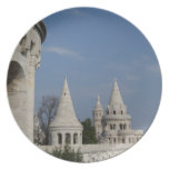 Hungary, capital city of Budapest. Buda, Castle Dinner Plate