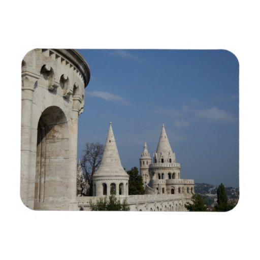 Hungary, capital city of Budapest. Buda, Castle Flexible Magnet