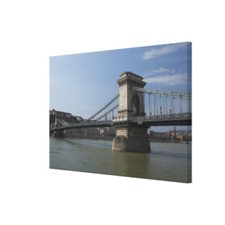 Hungary, capital city of Budapest. Historic 2 Canvas Print