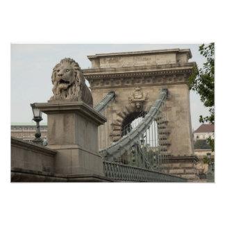 Hungary, capital city of Budapest. Historic 2 Photo Print
