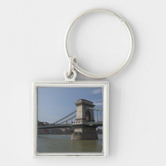 Hungary, capital city of Budapest. Historic 3 Keychain