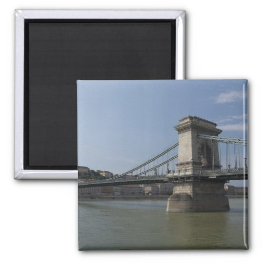 Hungary, capital city of Budapest. Historic 3 Magnet
