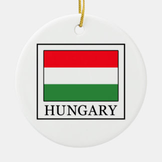 Hungary Ceramic Ornament