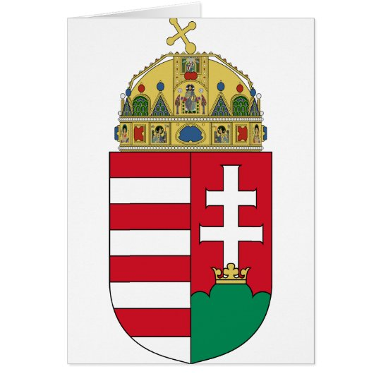 Hungary Coat of arms HU Card