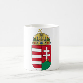 Hungary Coat of arms HU Classic White Coffee Mug