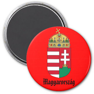 Hungary* Coat of Arms Magnet