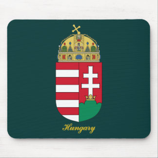 Hungary Coat of Arms Mouse Pad