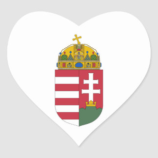 Hungary Coat of Arms Stickers