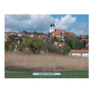 Hungary countryside postcard