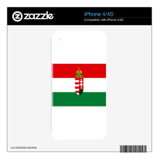 HUNGARY DECAL FOR THE iPhone 4S