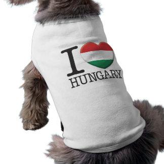 Hungary Dog Shirt