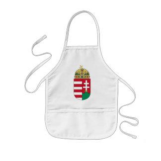 hungary emblem kids' apron