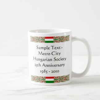 Hungary eText ~ Flagcolor Map Mug