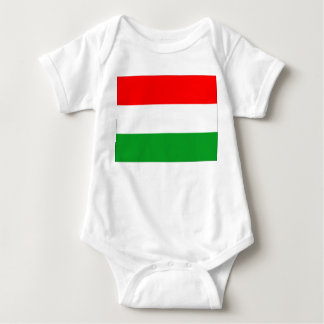 Hungary Flag Baby Bodysuit