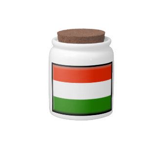 Hungary Flag Candy Dish