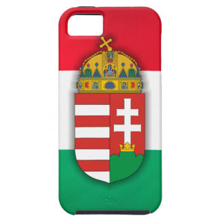 Hungary Flag & COA iPhone SE/5/5s Case