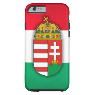 Hungary Flag & COA Tough iPhone 6 Case