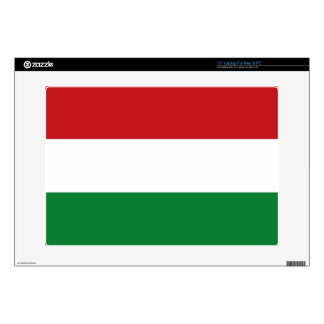 Hungary flag decal for laptop