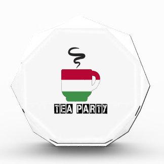 Hungary Flag Designs Acrylic Award