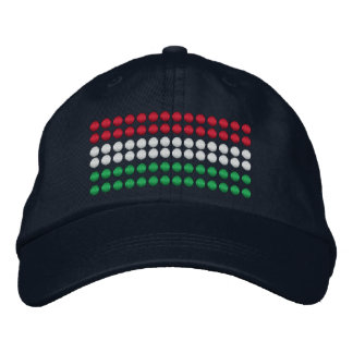 Hungary Flag Embroidered Baseball Hat