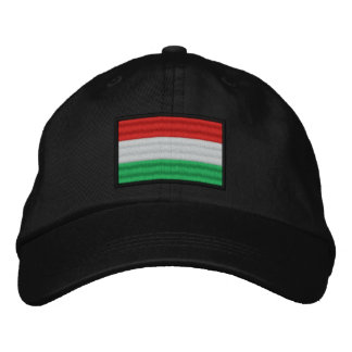 Hungary Flag Embroidered Hats