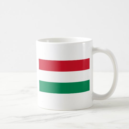Hungary Flag HU Coffee Mug