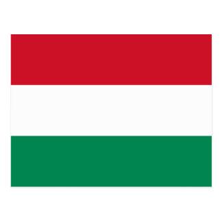 Hungary Flag HU Postcard