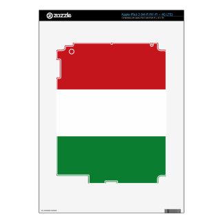 Hungary flag iPad 3 decal